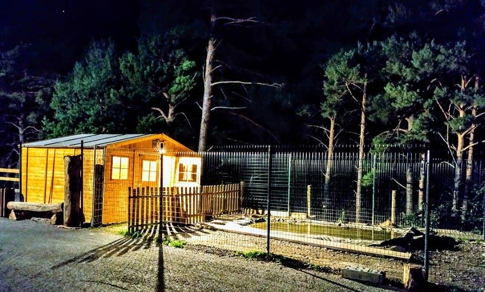 Exterior del Centre de nit